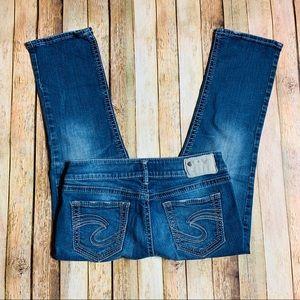 Silver Jeans Women's Suki Capri Blue Jeans Sz 29